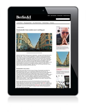 Berlin&I Web Redesign Marta Ricci