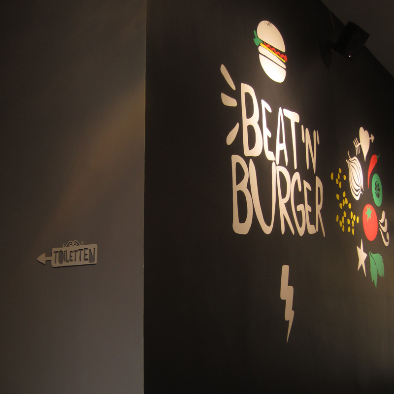 Beat'n'Burger Marta Ricci Design