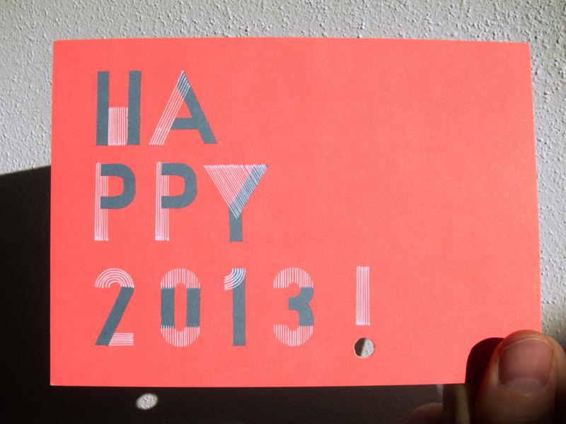 happy2013 martariccidesign