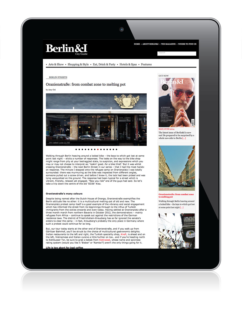 Berlin&I by Marta Ricci Design