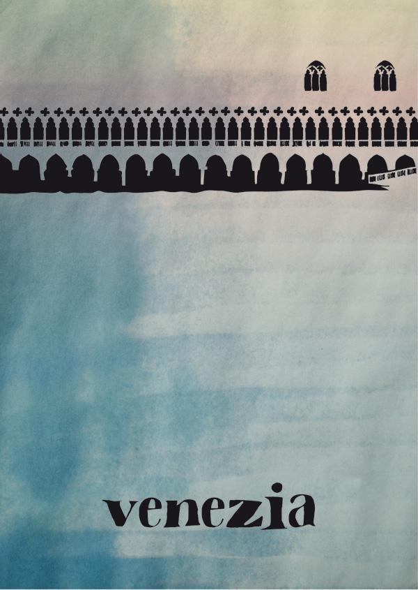Venezia Poster, Marta Ricci Design