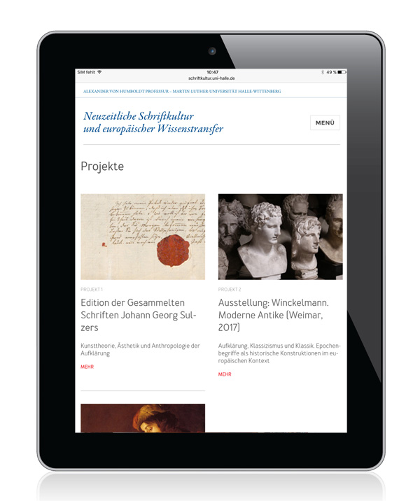 Marta Ricci Design: Schriftkultur