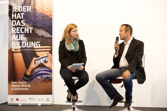 Marta Ricci Design: Digitale Bildung & Geflüchete