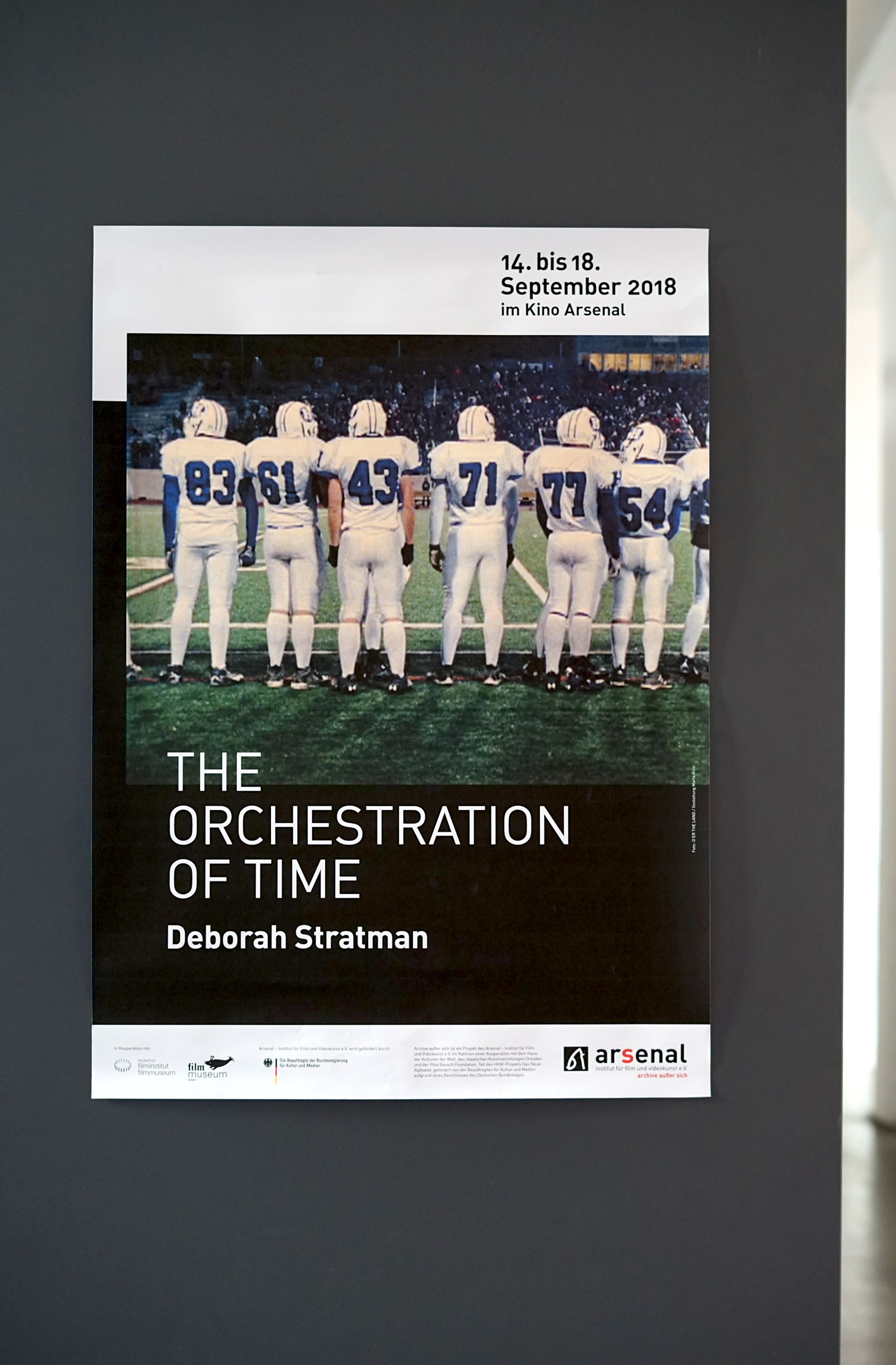 Arsenal Deborah Stratman - MartaRicciDesign